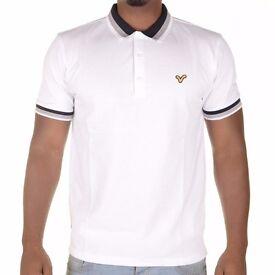 White Voi Polo Shirt Tshirt UK Small Letchworth