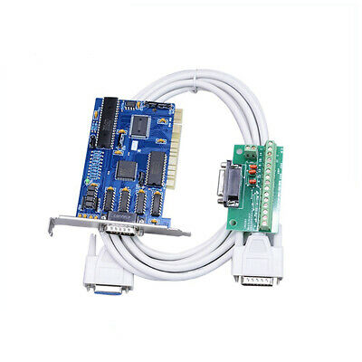 3 Axis Ncstudio Pci Motion Controller Interface Adapter Cable For Cnc Router