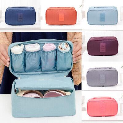 NEW Travel Storage Bag Bra Underwear Bag Organizer Box Toiletry Cosmetic Case - Decorative Suitcase Boxes