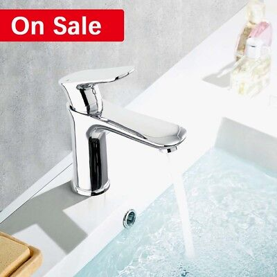 Single Handle Spout Tap Kitchen Faucet Brass One Hole Waterfall Laundry - Single Handle Laundry Faucet