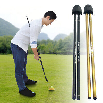 Golf Putting Training Aid Golf Putter Trainer Tool Attaches to Most Putter Shaft