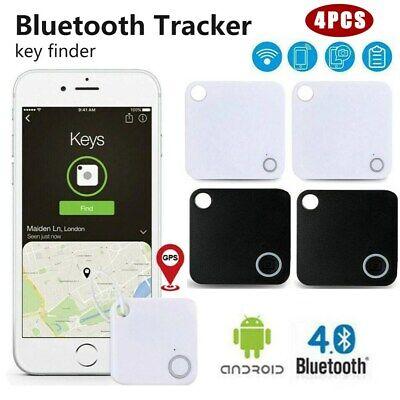 4 Pack Tile GPS Tracker Wireless Bluetooth Anti-Lost  Wallet Key Pet Finder US