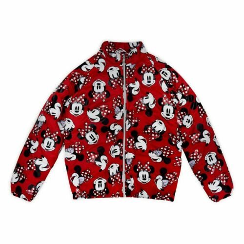 Disney Store Minnie Mouse Lightweight Puffy Jacket Toddler Girls Size 2 or 4 NEW
