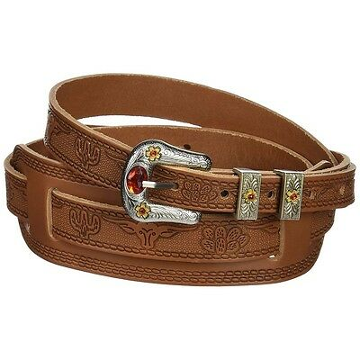 Gretsch Tooled Leather Vintage Syle Big Body Adjustable Guitar Strap Russet ()