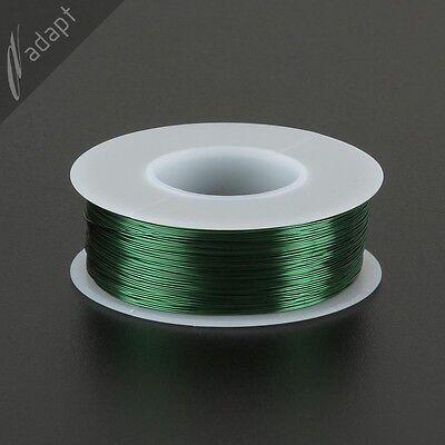 Magnet Wire Enameled Copper Green 28 Awg Gauge Hpn 155c 14 Lb 500ft