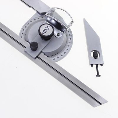 0-360 Precision Universal Bevel Magnifier Vernier Adjustable Protractor 401136