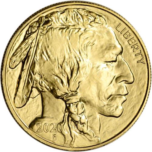 Best  2020 AMERICAN GOLD BUFFALO 1 OZ $50 - BU