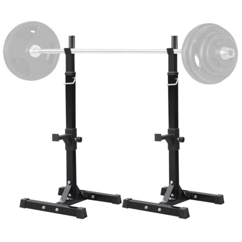 Adjustable Portable Squat Power Rack Weight Bench Press Barb