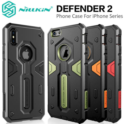 For Apple iPhone XS/X/8/7 Plus 6s Tough Shockproof Armor Hybrid Protective Case