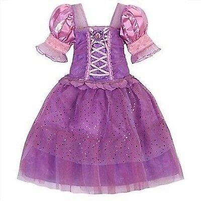 Disney Store Tangled Rapunzel Costume Dress Up Pink Princess Halloween Gown NEW](Tangled Halloween Costume)