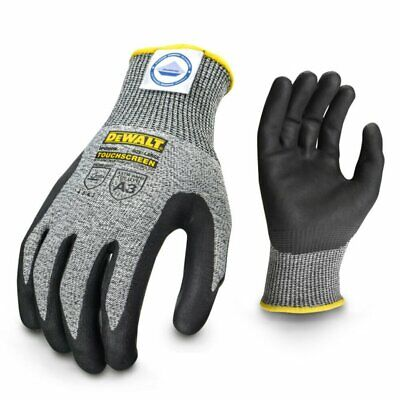 Dewalt Dyneema Cut Protection Level A3 Touchscreen Glove X-large Dpgd809xl