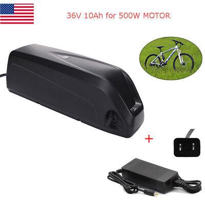 36V 10Ah Silver Bottle Lithium Battery Waterproof E-bike Electric Bicycle 500w