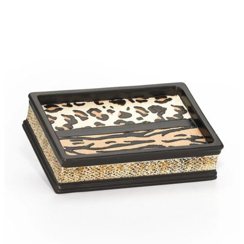 Popular Bath Gazelle Animal Print Bathroom Resin Soap Dish Bath