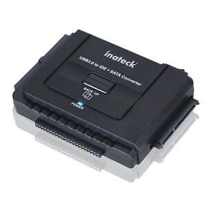 Inateck Universal USB 3.0 auf IDE / HDD/ SDD SATA Konverter Kombo-Dockingstation