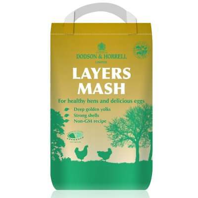 Dodson & Horrell Poultry Layers Mash 5Kg - Poultry / Chicken / Hen Food