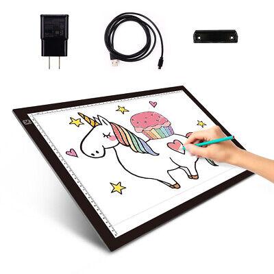 A3 LED Light Box Tracing Board Art Design Stencil Drawing Thin Pad Copy Lightbox