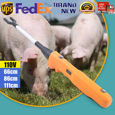 Stock Prodder Rechargeable Electric Livestock Farm Cattle Pig Prod Stick