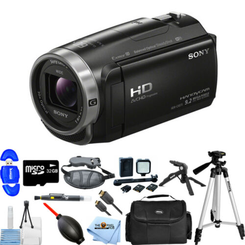 Sony Handycam HDR-CX675 Digital Camcorder - 3 - Touchscreen