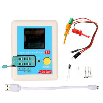 Esr Meter Tester Transistor Inductance Capacitance Resistance Lcr- T7 Test R5h7