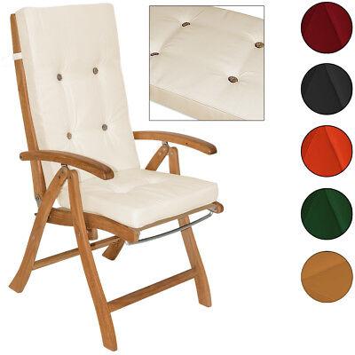 Auflagen Hochlehner Stuhlauflage Detex® 6x Sitzkissen Kissen Sitz Gartenpolster