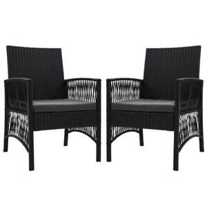 Outdoor Furniture Dining Chairs Rattan Garden Patio ...