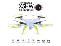 NEW SYMA X5HW DRONE WITH FPV REAL TIME VIDEO
