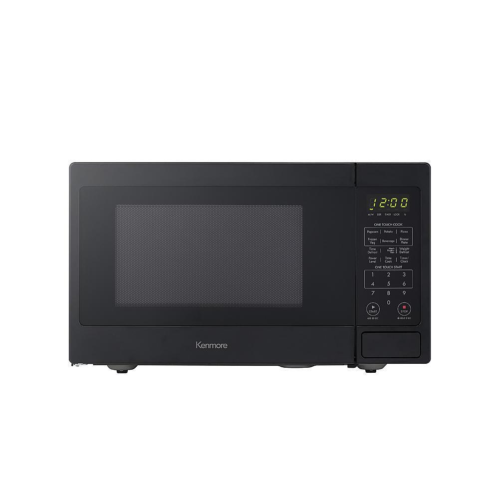 Kenmore 70919 0.9 cu. ft. Countertop Microwave Black BRAND N