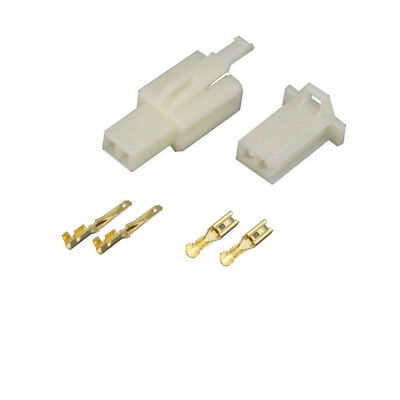 2.8mm 2 Pin Way Automotive Electrical Wire Connector Male And Female Cable