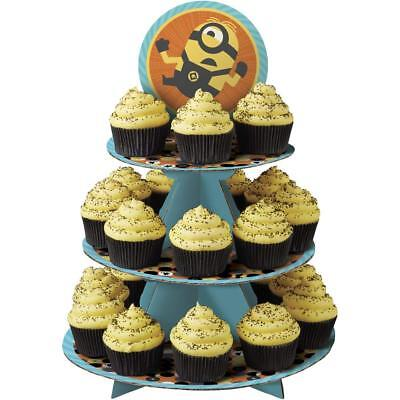 Minion Cupcake Stand (Despicable Me 3 Minions Cupcake Treat Stand -)