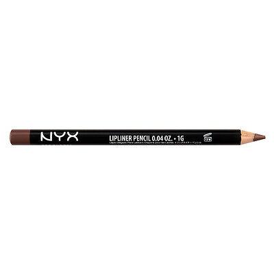 NYX  Slim Lip Liner Pencil SPL821 Brown Cafe ( Soft medium brown ) Brand New