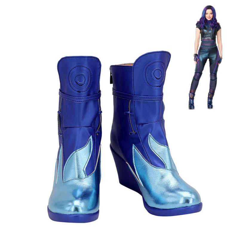 Descendants 3 Mal Shoes Cosplay Women Boots