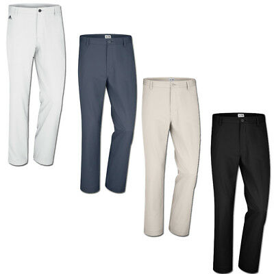 Adidas Golf Flat Front Pants Mens NWT Comfortable - Choose Color & Size.