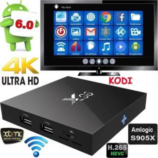 Best selling Android smart tv box X96 S905X 4K Kodi 1gb/ 8gb wifi