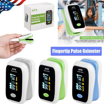 Finger Pulse Oximeter Blood Oxygen Spo2 Monitor Oled Pr Heart Rate Monitor Fda
