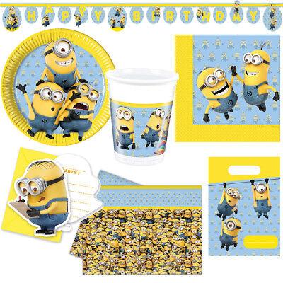 Lovely Minions Kindergeburtstag Auswahl Deko Party Dekoration Geburtstag - Minion Party Dekorationen