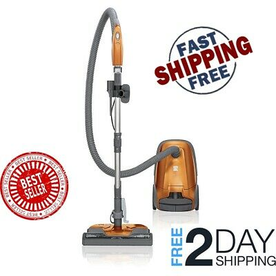 New Kenmore 81214 200 Series Bagged Canister Vacuum w/ HEPA Filter Orange