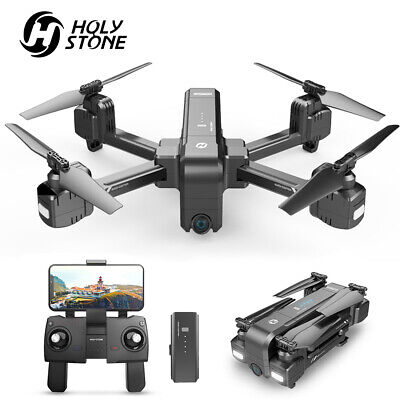 Holy Stone HS270 2.7K Drone with Video Camera Foldable Quadcopter GPS Follow Me