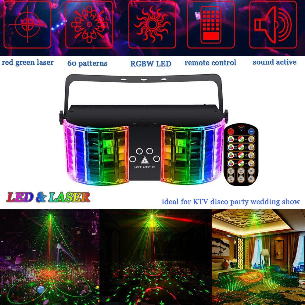 60 pattern projector led laser stage light