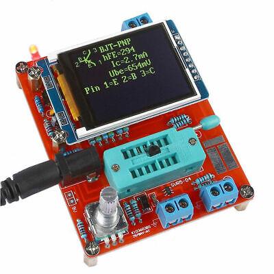 Component Tester Transistor Diode Capacitance Esr Meter Signal Generator Tool