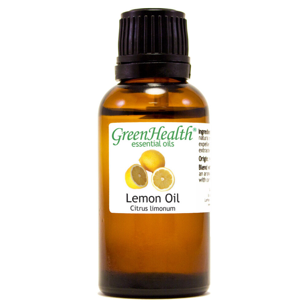 Essential Oils 30 mL (1 oz) - Pure & All Natural - Aromatherapy Oil Lemon