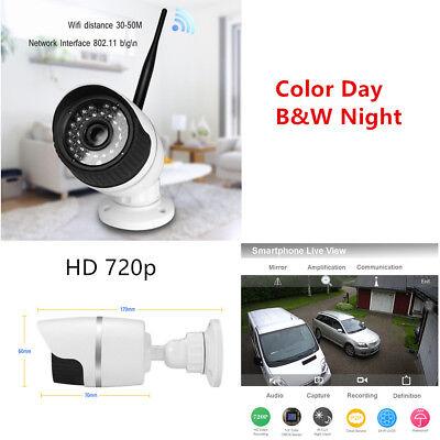 Home IP Camera 720P Onvif Outdoor Security Waterproof IR Night Vision Real Time