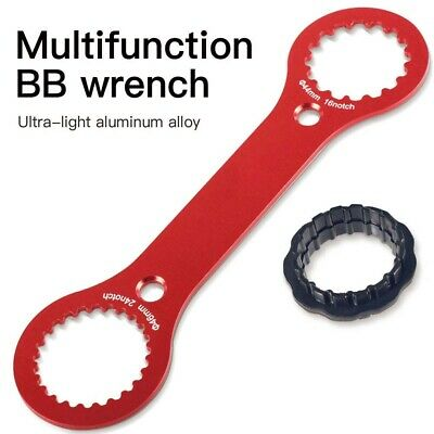 UK 4 in 1 Bicycle Chain Whip Bottom Bracket Wrench Bike Repair Install Tool Set