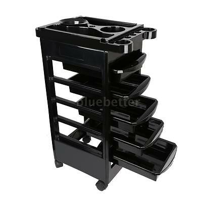 Hairdressing Storage Trolley Beauty Salon Spa Rolling Car...
