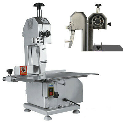 Commercial Electric Butcher Frozen Meat Bone Cutting Band Saw Machine 650w Fast