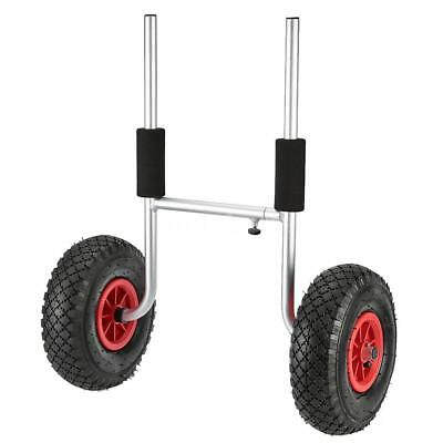 Kayak Canoe Boat Carrier Dolly Trailer Tote Trolley Transport Cart Wheel LA R1B5