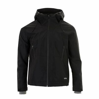SUPERDRY Men's Hooded Padded Elite Windcheater Jacket Black Size 2XL NEW $150