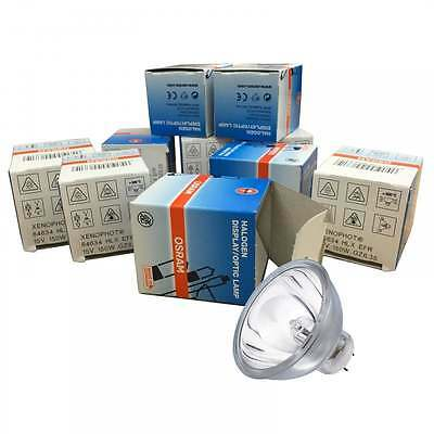 Osram 10 x A1/232 Halogen Lamp with Reflector MR16 64634 HLX ERF GZ6.35 15v 150w