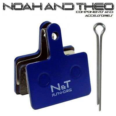 N&t Shimano Br M486 M495 M505 M506 M515 M515LA Resina Pastillas Freno...