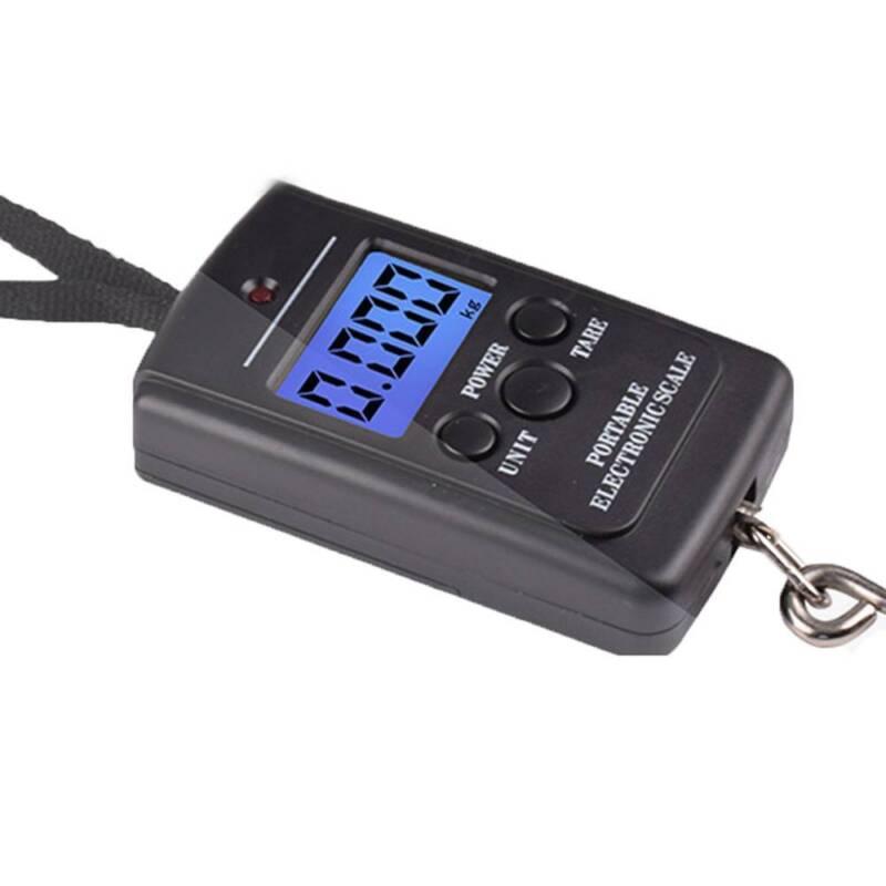 1 Pc Multifunctional Portable 40kg/10g Fishing Electronic Weighing Digital SALE