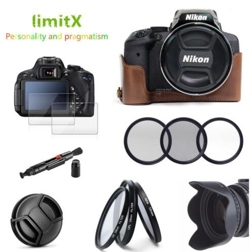 best place nice shoes quality products ≥ LimitX 9 in 1 Accessoires Half Body Leather Case + Filter ...